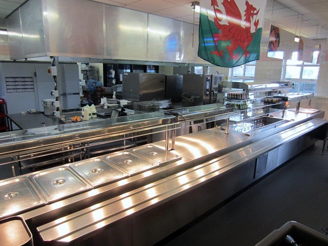 Stradey Servery Counter