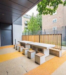 New Regents College Canteen Outside Image