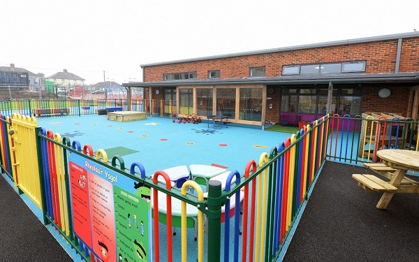 Five Roads CP School Outside - to use
